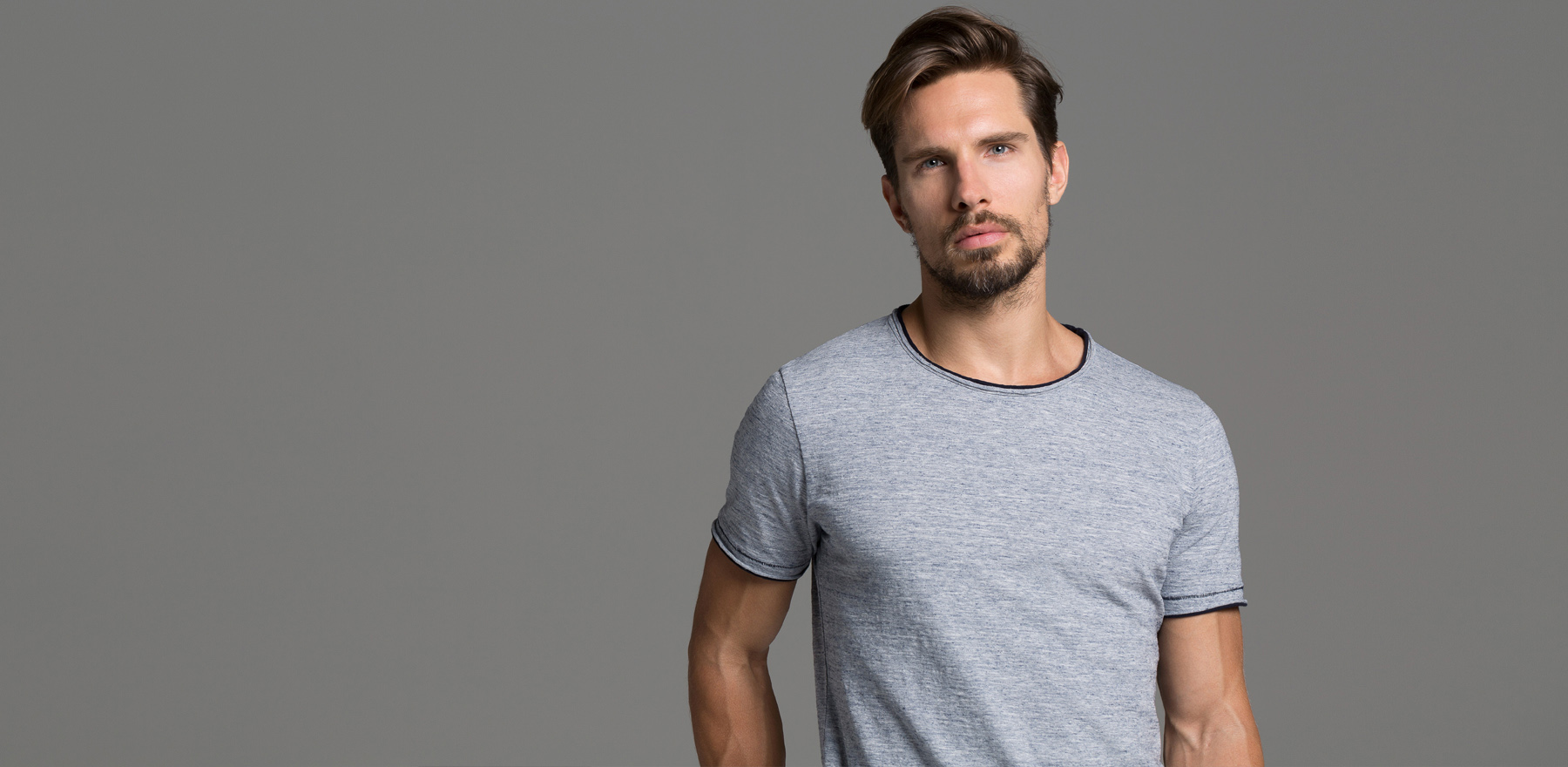 Frühjahr-Sommer 2017 Melange T-Shirt