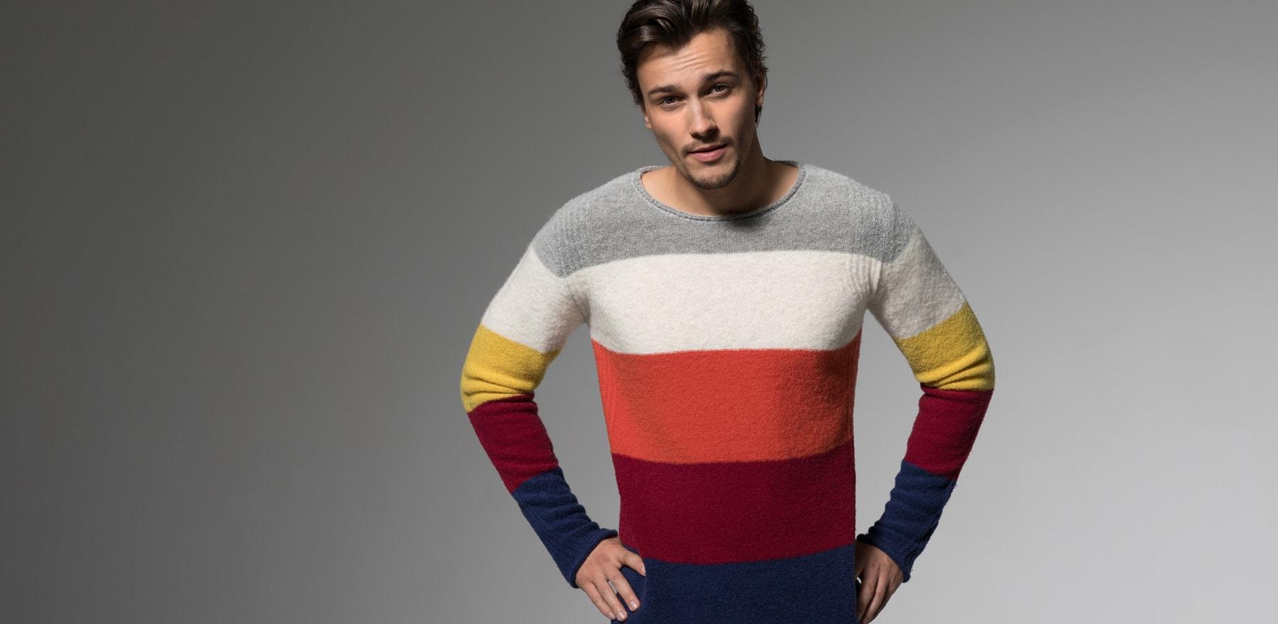 SEVEN DAYS CIRCUS Merino stripe Pullover