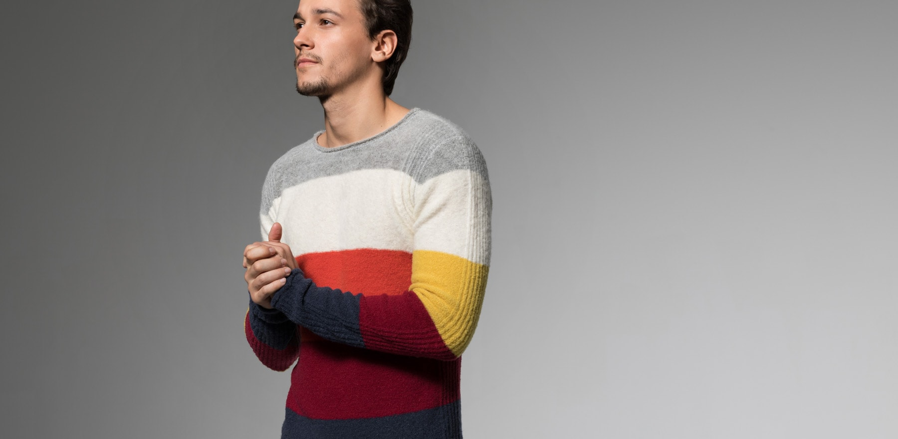 SEVEN DAYS CIRCUS striped sweater